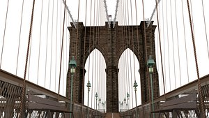 3D brooklyn bridge