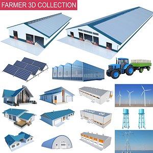 3D Farmer House Collection