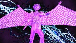 sasuke complete susanoo 3D model