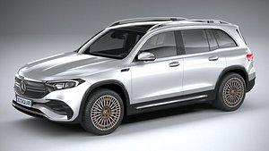 3D Mercedes-Benz EQB 2022 model