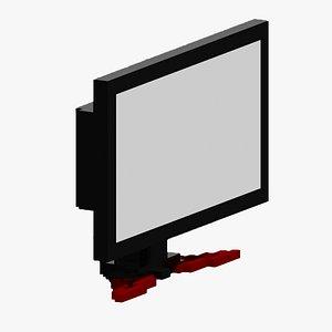 3D Voxel Monitor model