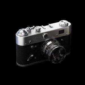 3D FED camera model