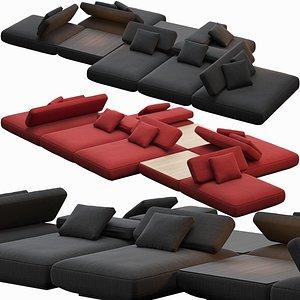 3D sofa agio paola