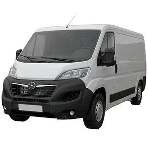 3D Opel Movano L2H1 2021