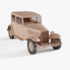 3D model 1933 Lancia Augusta