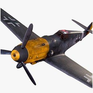 plane bf-109 model