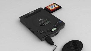 Sega Genesis CDX model