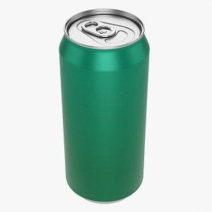 3D Standard beverage can 440 ml 14-87 oz model