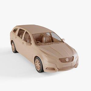 3D 2013 Holden Commodore VF sportwagon Evoke