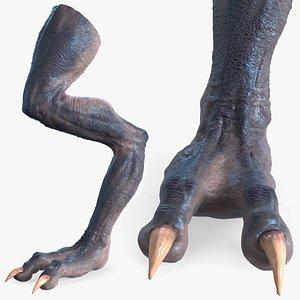 monster creature leg science 3D