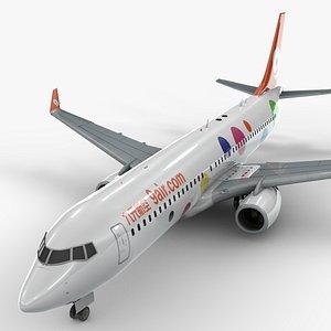 3D boeing 737-8 9 air model