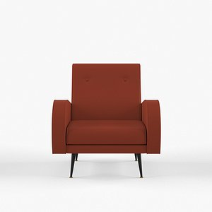 Hugo Occasional Chair 3D model