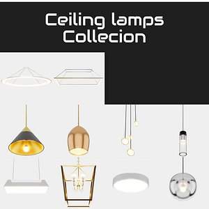 3D lamp ceiling collecion