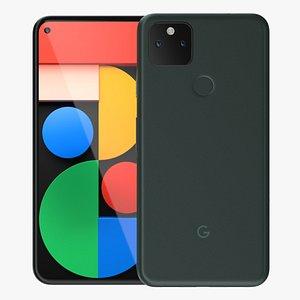 Google Pixel 6a 3D model