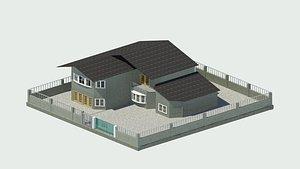 HOUSE BASIC - CH 3D model