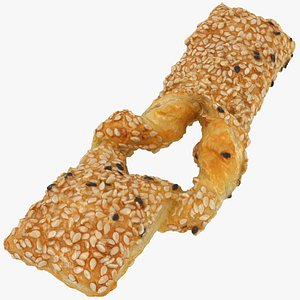 3D model Puff Pastry Sticks