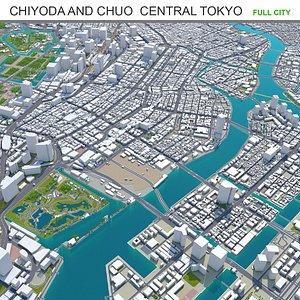 Chiyoda  Chuo  Central Tokyo model