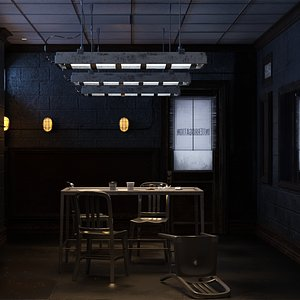 Interrogation 2 3D model
