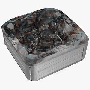 Jacuzzi J 335 Hot Tub Monaco 3D