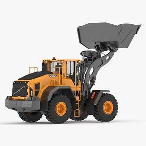 3D wheel loader load