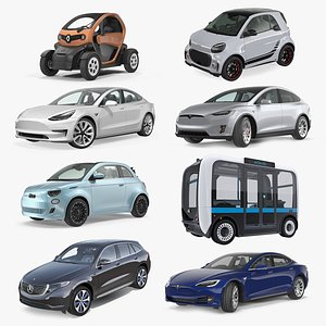 Electric Cars Collection 2 3D model