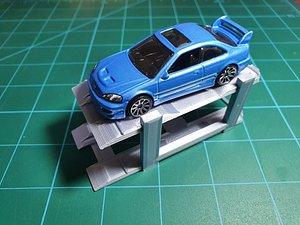 3D hotwheels