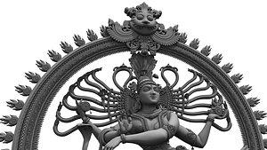Nataraja statue 3D