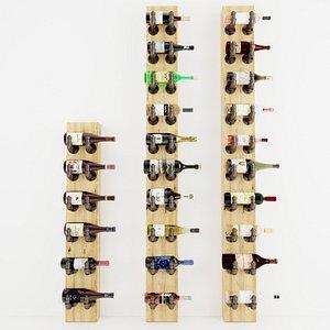 Wine Rack WR4 3D model