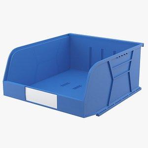 3D storage bin contains model