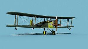 Airco DH-4 Johns Flying School model