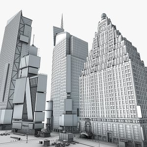building skyscraper 3D model