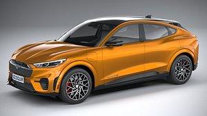 3D Ford Mustang Mach-E GT 2021