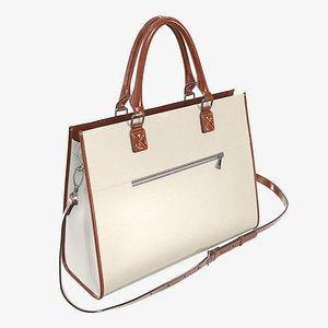 handbag briefcase travel 3D model
