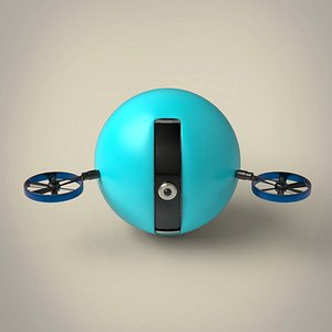 3D model Spy drone