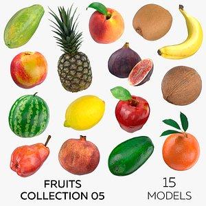 3D model Fruits Collection 05 - 15 models