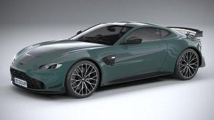 3D Aston Martin Vantage F1 Edition 2021 model