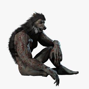 3D Werewolf JYK model