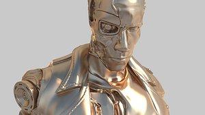 character robot 3D model