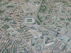 eindhoven city 3D model