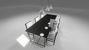 3D simple dining