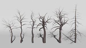 spooky-tree scary-tree 3D model