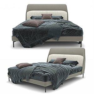 3D bed coupé