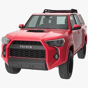 Toyota 4Runner TRD Pro Red Metallic 2021 model