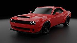 Dodge Challenger SRT Demon 3D model