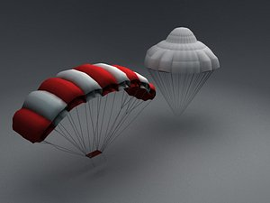 Paratrooper parachute Two types of parachutes Paratrooper 11A parachute and Paratrooper 9D parachut model