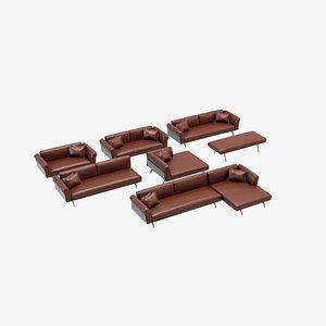 3D sofa v36