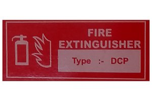 3D Fire Extinguisher Poster