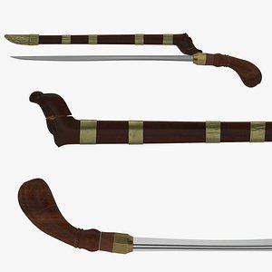 Badik Sword model