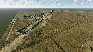 belen regional airport 3D