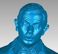 Mr Bean Bust Scan